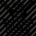 antenna, radio, signal, tv, wave icon