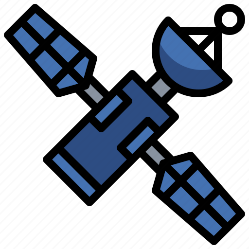 antenna, communication, communications, electronics, satellite, space, station icon