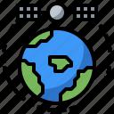 antenna, communication, electronics, satellite, space, station, surveying icon