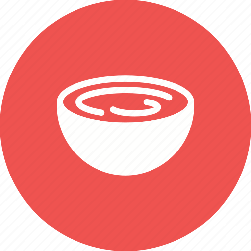 bowl, cream, food, glass, sour, taste, yoghurt icon