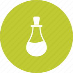 bottle, chemical, conical, equipment, flask, lab, scientific icon