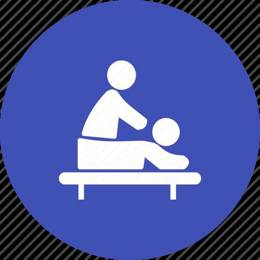 back, body, care, massage, spa, therapy, treatment icon