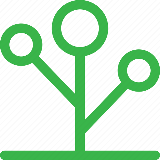 forest, grow, nature, plant, seo, thin, tree icon
