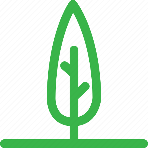 forest, nature, plant, thin, tree icon