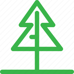 christmas, forest, green, nature, plant, santa, tree icon
