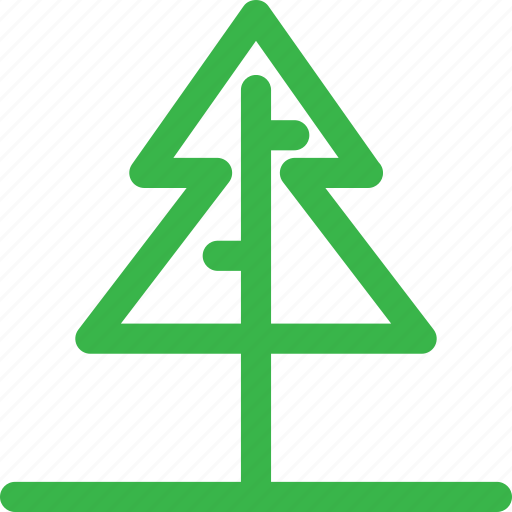 christmas, forest, green, grow, nature, santa, tree icon