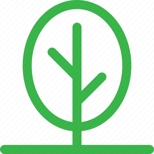 forest, green, grow, nature, plant, round, tree icon