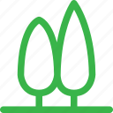 forest, green, group, nature, plant, tree, trees icon