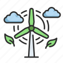 wind, nature, windmill, farm, energy, power, turbine