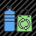 waste, plastic, recycling, garbage, bin, trash