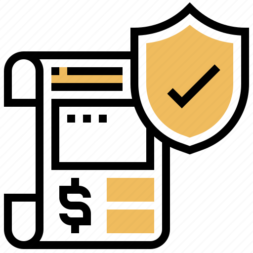 approved, document, license, permission, shield icon
