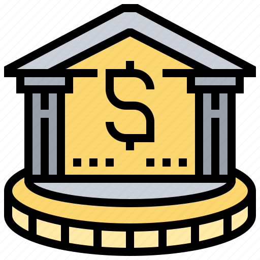Bank, business, economic, financial, institution icon - Download on Iconfinder