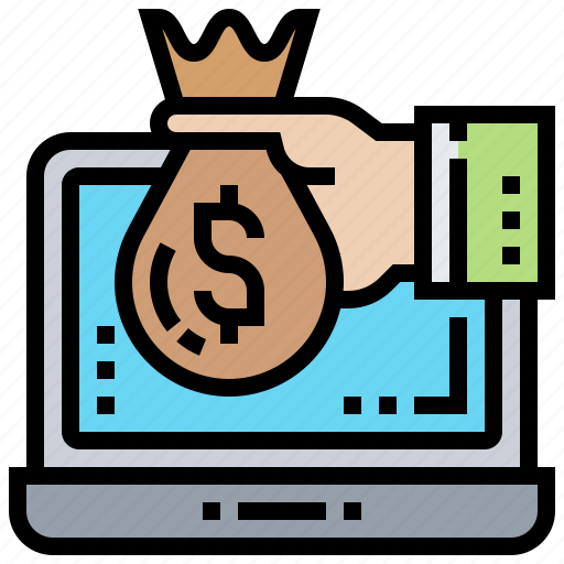 Income, internet, investment, online, passive icon - Download on Iconfinder