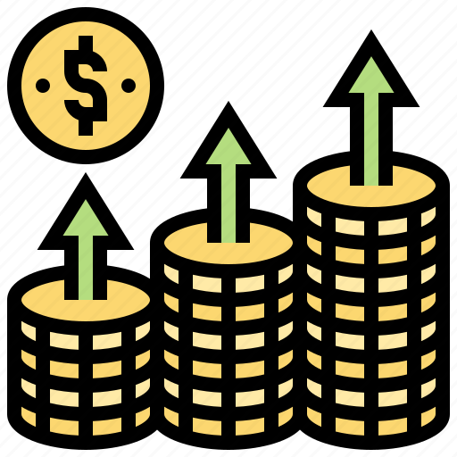 Benefit, income, investment, money, profit icon - Download on Iconfinder