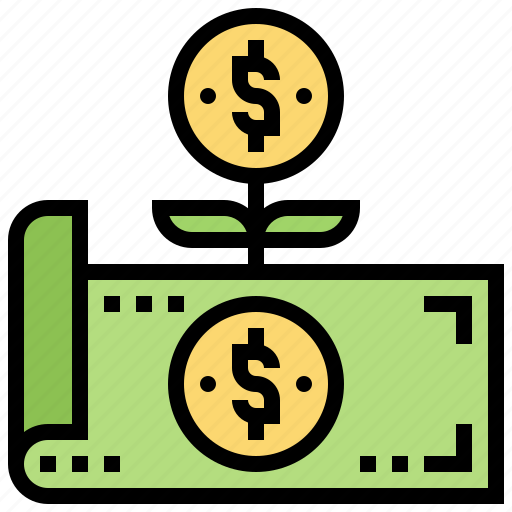 Cash, earning, income, money, revenue icon - Download on Iconfinder