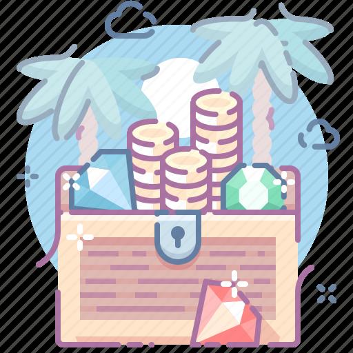 Gold, money, treasure icon - Download on Iconfinder
