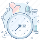 office, time icon
