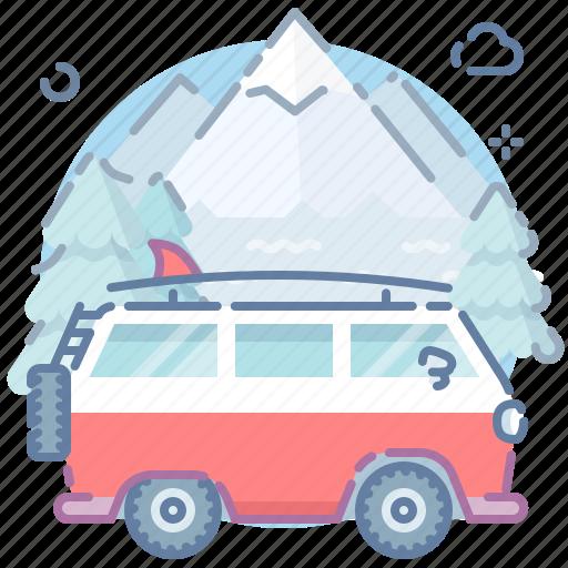 Car, travel, van icon - Download on Iconfinder on Iconfinder
