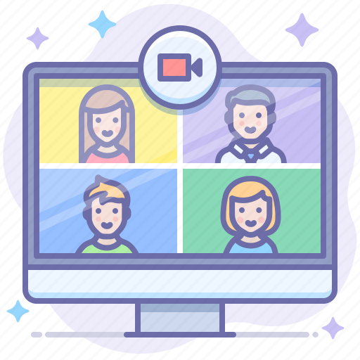 Chat, group, video icon - Download on Iconfinder