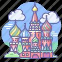 church, russia icon