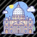 basilica, vatican, santa peter