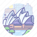 australia, opera, sydney icon
