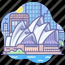 australia, house, opera icon
