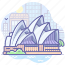 australia, house, opera