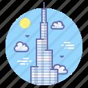 emirates, burj khalifa icon