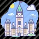 building, canada, parliament