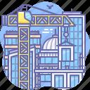 building, city, construction, site