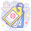 price, gifts, sale, discounts icon