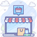 ecommerce, gifts, shop, shopping icon