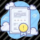 alert, key, license, software icon