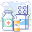 drugs, medical, pills, treatment icon