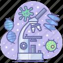 lab, medical, medicine, microscope icon