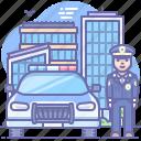 car, cop, police