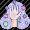 dirty, corona, hand, virus