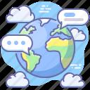 messages, world, communication, global