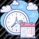 time, schedule, date, calendar