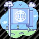 language, region, flag, global