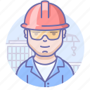 builder, man, worker icon