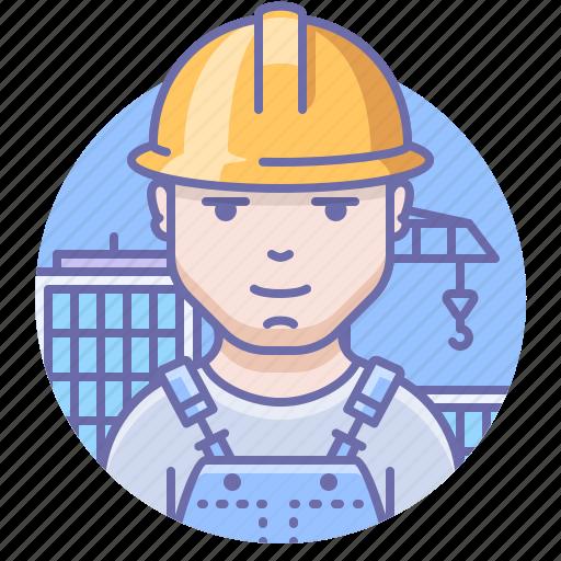 Builder, man, worker icon - Download on Iconfinder