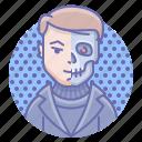 cyborg, terminator, man