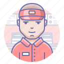 cashier, man, seller icon