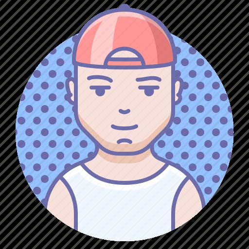 man, person, sport icon