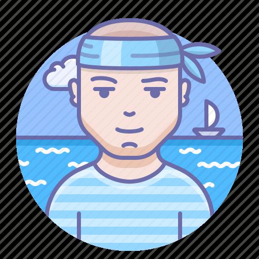 Man, mariner, sailor icon - Download on Iconfinder