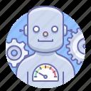 bot, robot, man