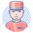 doorman, man, steward icon