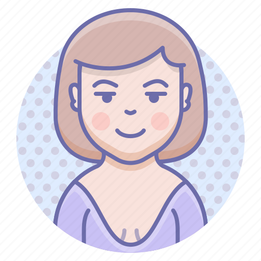 Dress, smile, woman icon - Download on Iconfinder